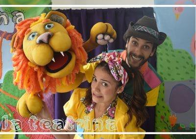 Poncho, Mila y Leoncio
