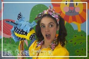 esta es una Foto de Mila la teatrina