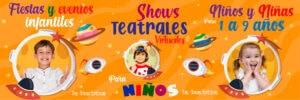 Fiestas teatrales niños