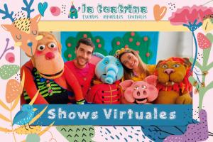 Fiestas infantiles virtuales