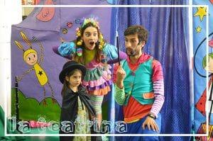 Foto de Poncho y Mila con magia