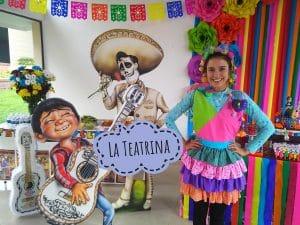 Foto de Mila en fiesta de Coco