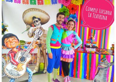 Poncho y mila Coco